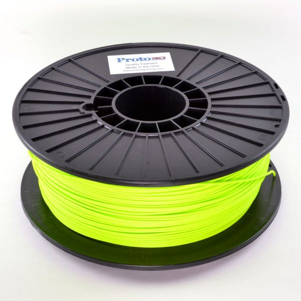 Green Fluorescent PLA Filament