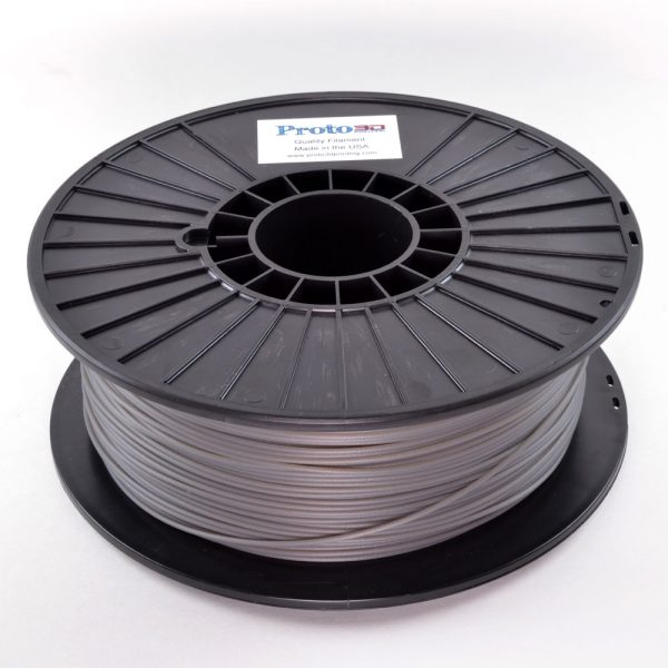 Gray Translucent PLA Filament
