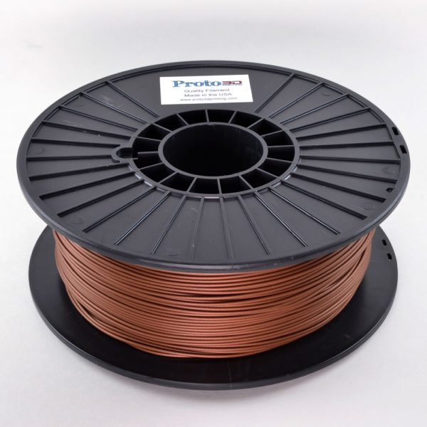 metallic bronze filament