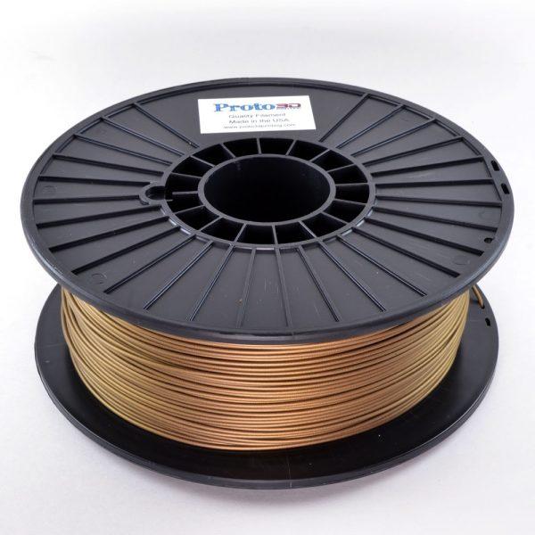 Gold Metallic PLA Filament