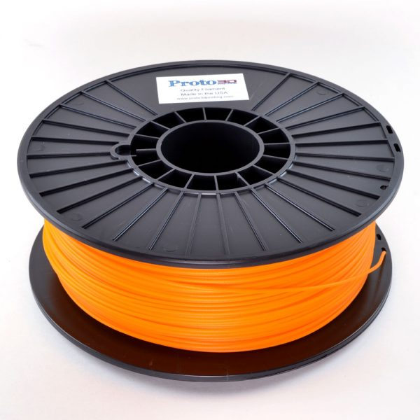 Golden Pumpkin Translucent PLA Filament